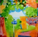 Jardin de Ferrer 100 cm x 100 cm 2010