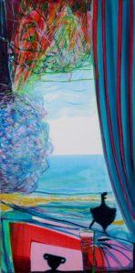 Jardin de Fayez 80 cm x 40 cm 2010