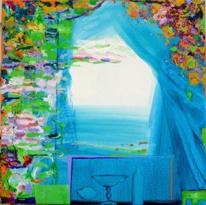 Jardin de Floraine 70 cm x 70 cm 2011