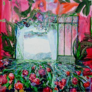 Jardin d'Ethel-Salomé 100 cm x 100 cm 2011