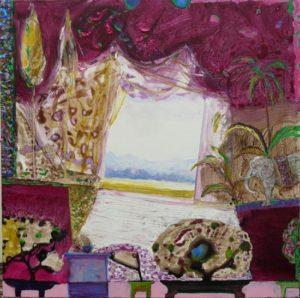 Jardin de Floek 80 cm x 80 cm 2011
