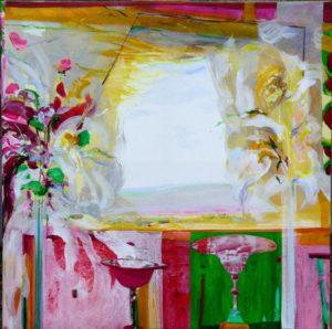 Jardin de Flavio 100 cm x 100 cm 2011
