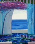 Jardin de Gaïane 92 cm x 73 cm 2011