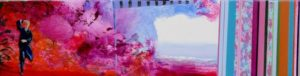 Jardin de Genichi 80 cm x 20 cm 2011