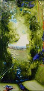 Jardin de Fosca 40 cm x 20 cm 2011