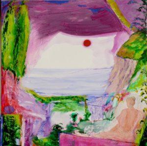 Jardin de Gala 100 cm x 100 cm 2011