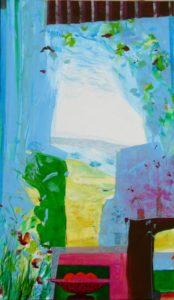 Jardin de Francesca 195 cm x 114 cm 2011
