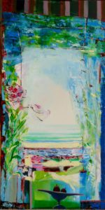 Jardin de Gabriel 100 cm x 50 cm 2011