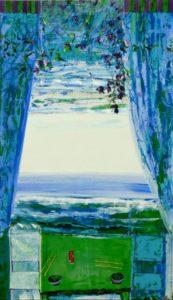 Jardin de Gaelig 195 cm x 114 cm 2011