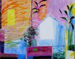 Jardin de Gatien 100 cm x 81 cm 2011