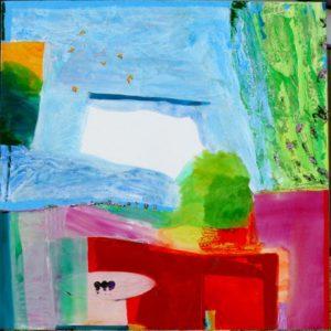 Jardin de Gamane 130 cm x 130 cm 2011