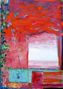 Jardin de Gemro 116 cm x 89 cm 2011