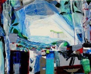 Jardin de Gildas 100 cm x 81 cm 2011