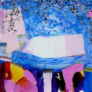 Jardin de Gina 60 cm x 60 cm 2011