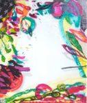 Le jardin d'Aracelie 55 cm x 46 cm 2005