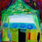 Jardin de Gino 100 cm x 100 cm 2011