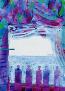 Jardin de Giordina 70 cm x 50 cm 2011