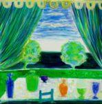 Jardin de Giordino 40 cm x 40 cm 2011