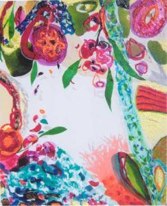 Le jardin d'Archange 40 cm x 50 cm 2005