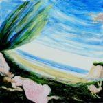 Du côté de chez Mona 100 cm x 100 cm 2011