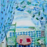 Jardin d'Habiba 100 cm x 100 cm 2011
