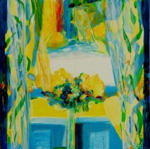 Jardin de Giana 100 cm x 100 cm 2011