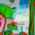Jardin de Giacento 80 cm x 80 cm 2011