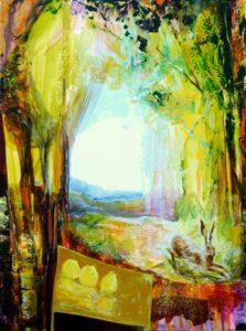 Jardin de Gueric 130 cm x 97 cm 2011