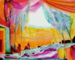 Jardin de Faezae 100 cm x 81 cm 2011