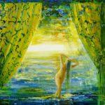 Du coté de chez Milena 50 cm x 50 cm 2011