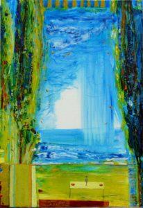 Du coté de chez Nadim 55 cm x 38 cm 2011