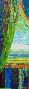 Le jardin d'Hajar 90 cm x 30 cm 2011