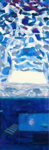 Du coté de chez Nadila 90 cm x 30 cm 2011