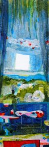 Le jardin d'Haïcha 60 cm x 20 cm 2011