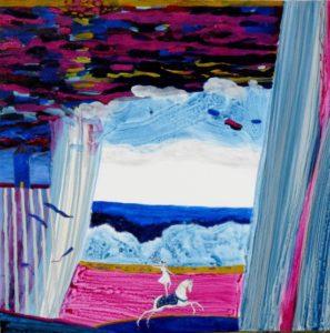 Du coté de chez Nabela  100 cm x 100 cm 2011