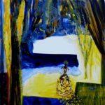 Du coté de chez Nadjana 100 cm x 100 cm 2011