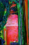 Le jardin d'Hanaë  41 cm x 24 cm 2011