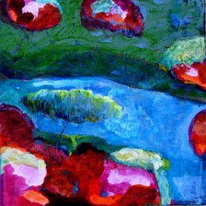 Le jardin d'Ianam 50 cm x 50 cm 2012