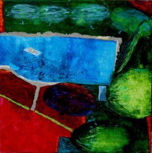 Le jardin d'Idora  50 cm x 50 cm 2012