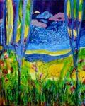 Le jardin d'Igor 100 cm x 81 cm 2012