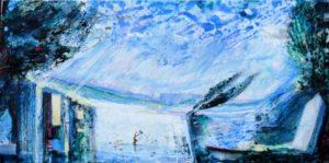 Chez Nathis, le coup de vent 80 cm x 40 cm 2012
