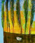 Chez Naisha, le bain 61 cm x 50 cm 2012