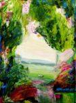 Le jardin d'Iva 61 cm x 46 cm 2012