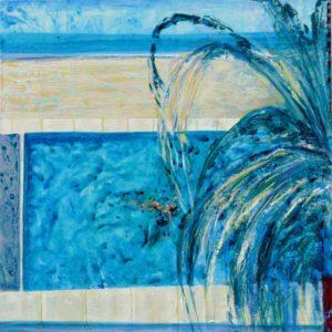 Chez Jahida 80 cm x 80 cm 2012