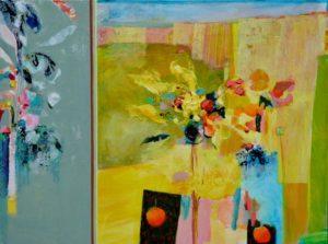 Et tes bouquets jaloux des horizons ravis 130 cm x 97 cm 2012