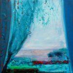 A ton regard languide, le paysage répond  60 cm x 60 cm 2012