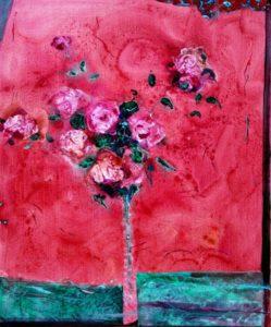 Un bouquet pour mon père 55 cm x 38 cm 2012