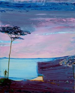 Cénée sur l'ile de Skiatos 81 cm x 65 cm 2012