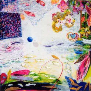 Le jardin d'Armina 120 cm x 120 cm 2005