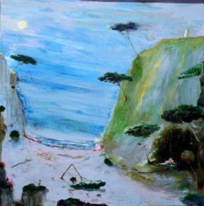 Acis et Galatée 120 cm x 120 cm 2012